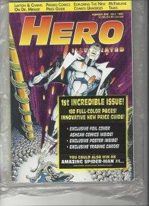 HERO ILLUSTRATED MAGAZINE # 1 JULY 1993 SEALED MINT