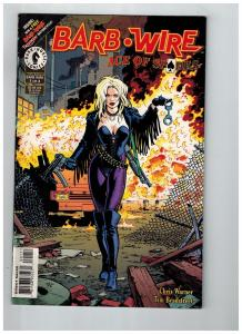 Barb-Wire Ace Of Spades # 1 VF Dark Horse Comic Books Chris Warner WOW!!!!!! SW1