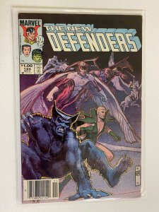 The New Defenders #125 Newsstand 6.0 FN (1983)