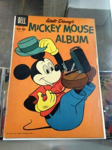 Dell Four Color 1151 Mickey Mouse Album (Cover B) 1960  VG-/VG