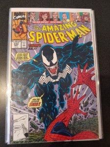 Amazing Spider-Man #332 Venom Cover Erik Larsen HIGH GRADE NM