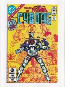 Tales of the New Teen Titans 1 - 4 Complete Set DC Comics 1982 Series