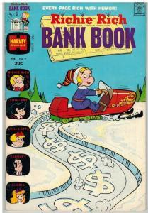 RICHIE RICH BANK BOOKS (1972-1982) 9 VG Feb. 1974 COMICS BOOK