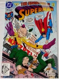 Adventures of Superman #496 (9.2) High Grade Superman DC ID#28q