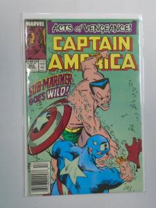 Captain America (1st Series) #365, Newsstand Edition 8.0/VF (1989)