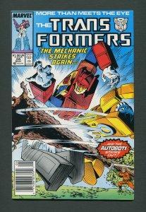Transformers #28  / 8.0 VFN  Newsstand   May  1987
