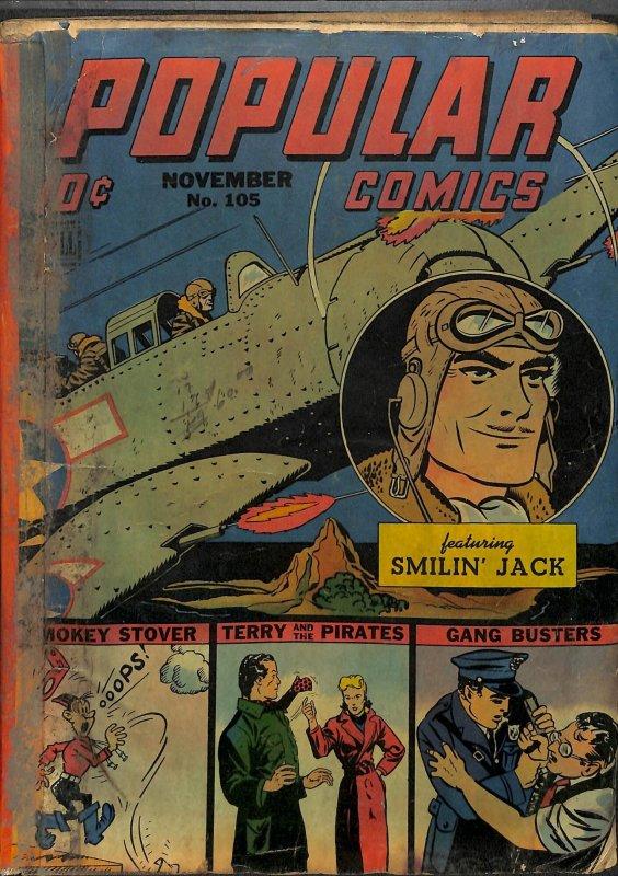 Popular Comics #105 Very Low Grade