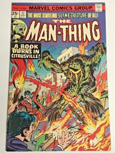 MAN-THING#17 VF 1975 MARVEL BRONZE AGE COMICS