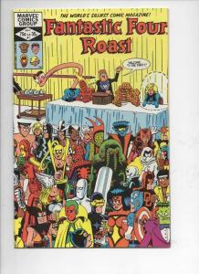 FANTASTIC FOUR Roast #1 VF Hembeck, Marvel, 1982, more FF in store
