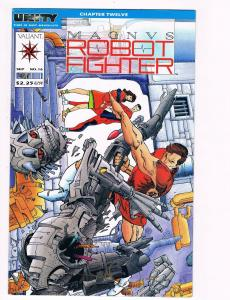 Magnus Robot Fighter # 16 VF/NM Valiant Comic Books Hi-Res Scans Awesome Issue!!