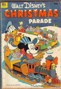 Dell Giant Christmas Parade #4 (Dec-52) GD Affordable-Grade Scrooge McDuck, D...