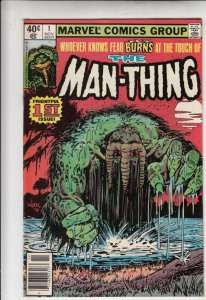 Man-Thing #1 (Nov-79) VF/NM High-Grade Man-Thing