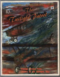 Twilight Patrol #1 2008-1st issue-hero pulp style-air war-FN