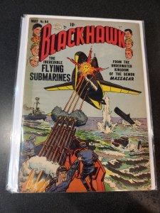 BLACKHAWK #64 GOLDEN AGE CLASSIC