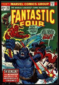 Fantastic Four #145 (Apr 1974, Marvel) 9.0 VF/NM