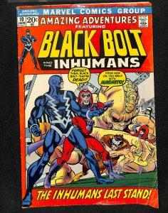 Amazing Adventures #10 Black Bolt Inhumans!