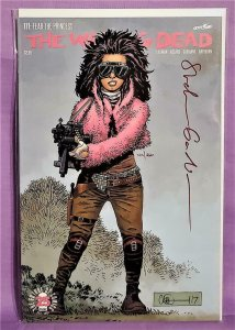 Stefano Gaudiano THE WALKING DEAD #171 Signed 44/260 1st PRINCESS (Image, 2017)!