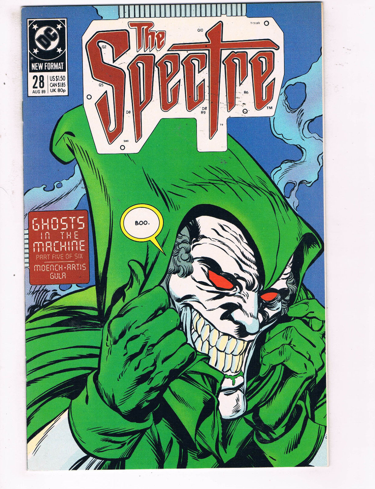The Spectre #28 August 1989 DC Comics