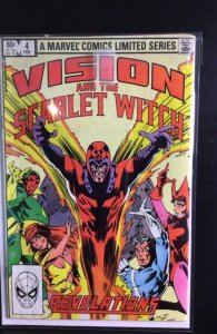 Vision and the Scarlet Witch #4 (1983)