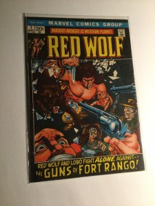 Red Wolf 1 Fine fn 6.0 Marvel