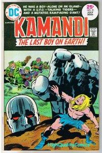 KAMANDI #31, VF, Jack Kirby, Last Boy on Earth, 1972, more JK in store