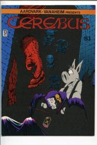 CEREBUS  #13 1979-AARDVARK-VANAHEIM-DAVE SIM-nm