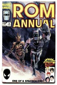 ROM Annual #3-First appearance GUTHRIE FAMILY-comic book-New Mutants