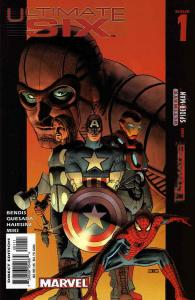 Ultimate Six #1 FN; Marvel   save on shipping - details inside