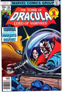 Tomb of Dracula(vol. 1) # 66 To Be Human With All Your Foes Against You !