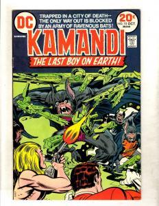 Kamandi # 10 VF DC Comic Book Jack Kirby Fourth World Bronze Age FM2