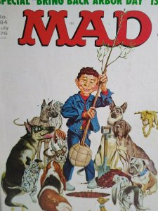 MAD Magazine July 1976 No 184 Arbor Day Issue Various Dogs Comic Gift For Dad