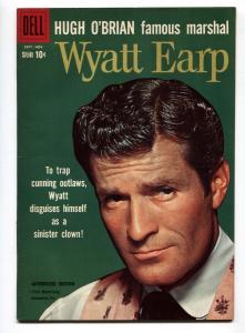 Wyatt Earp #8 1960-Dell-Hugh O'Brian-Hugh Manning TV photo-VG/FN