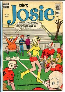 Josie #10 1964-Archie-Football cover-VG