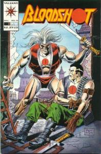 Bloodshot (1993 series) #11, VF- (Stock photo)