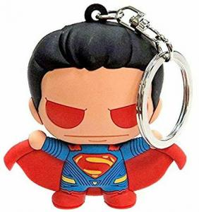Batman v Superman BVS Heat Vision Superman Laser Cut Key Ring / Keychain - New!