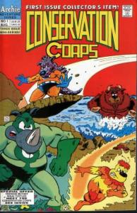 Conservation Corps #1, VF- (Stock photo)