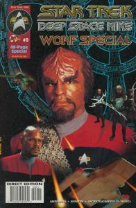 Star Trek: Deep Space Nine, Worf Special #0 VF; Malibu | save on shipping - deta