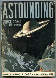 Astounding Pulp April 1939- Worlds Dont Care- Science Fiction G