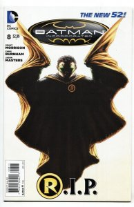 Batman Incorporated #8 Death of Damian Wayne  DC comic book NM-