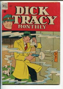 Dick Tracy #7 1948-Dell-Chester Gould art-early issue-VG+