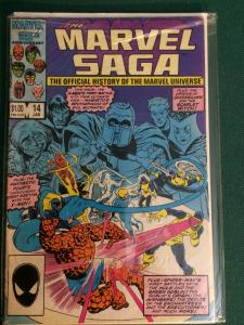 The Marvel Saga #14
