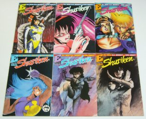 Shuriken vol. 2 #1-6 VF/NM complete series - eternity comics bad girl set lot