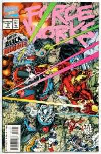 Force Works #5 Avengers / Iron Man / Spider-Woman (Marvel, 1994) VF/NM