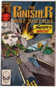 Punisher War Journal   vol. 1   #10 FN/VF
