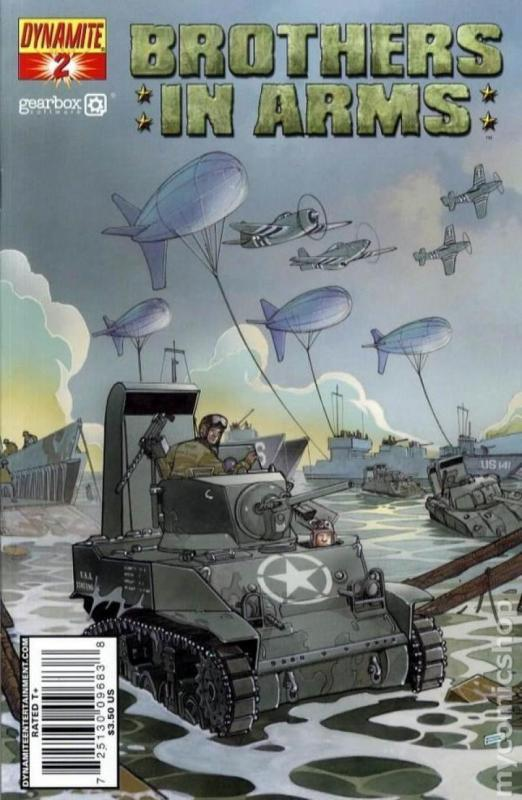 BROTHERS in ARMS #2, NM, WWII, War, Battle, 2008, more indies in store, Tanks