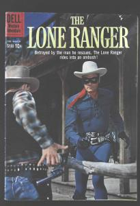 Lone Ranger (1948 series) #132, Fine- (Actual scan)