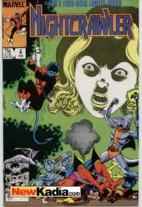 Nightcrawler (1985 series) #4, Fine (Stock photo)