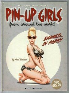 Pin-up Girls From Around The World 2002-Humanoids-hardback book-GGA imagery-NM/M