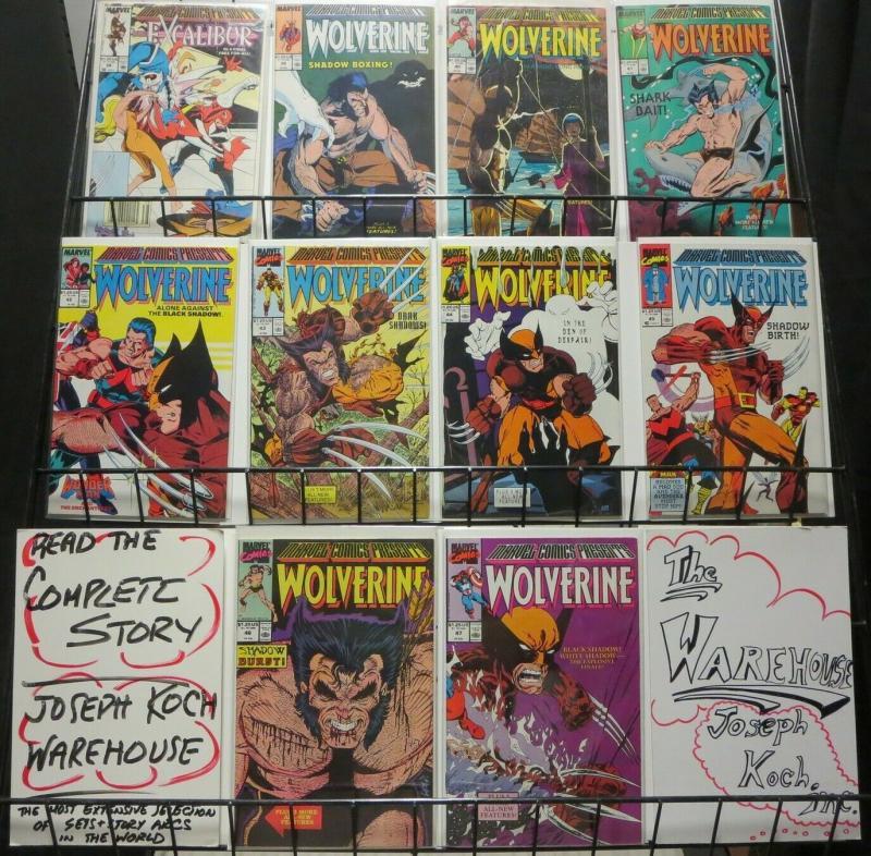 MARVEL COMICS PRESENTS 38-47 Wolverine; Black Shadow!