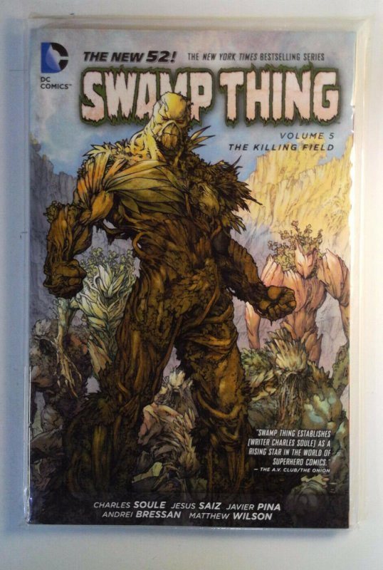 Swamp Thing: The Killing Field #1 (2014) DC 9.4 NM GN Trade Paperback